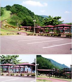 猿倉山森林公園キャンプ場・展望台バーベキューハウス